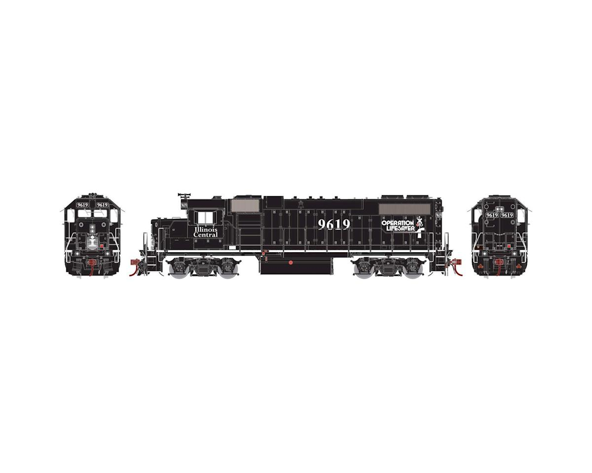 Athearn HO GP38-2 PH I, IC/Black/Operation Lifesaver #9619