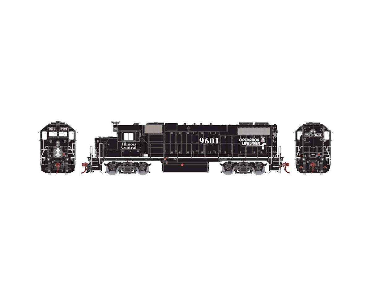 Athearn HO GP38-2 PH I, IC/Black/Operation Lifesaver #9601