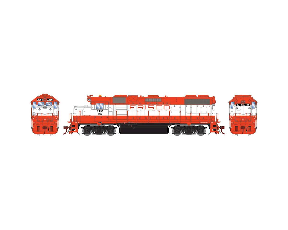 Athearn HO GP38-2, BN/Frisco Patch #2256