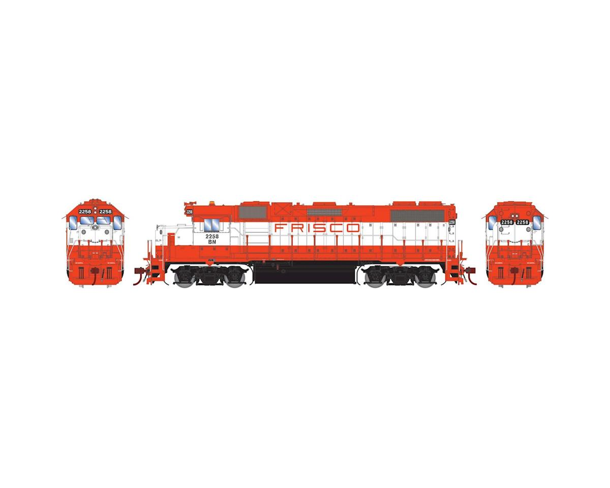 Athearn HO GP38-2, BN/Frisco Patch #2258