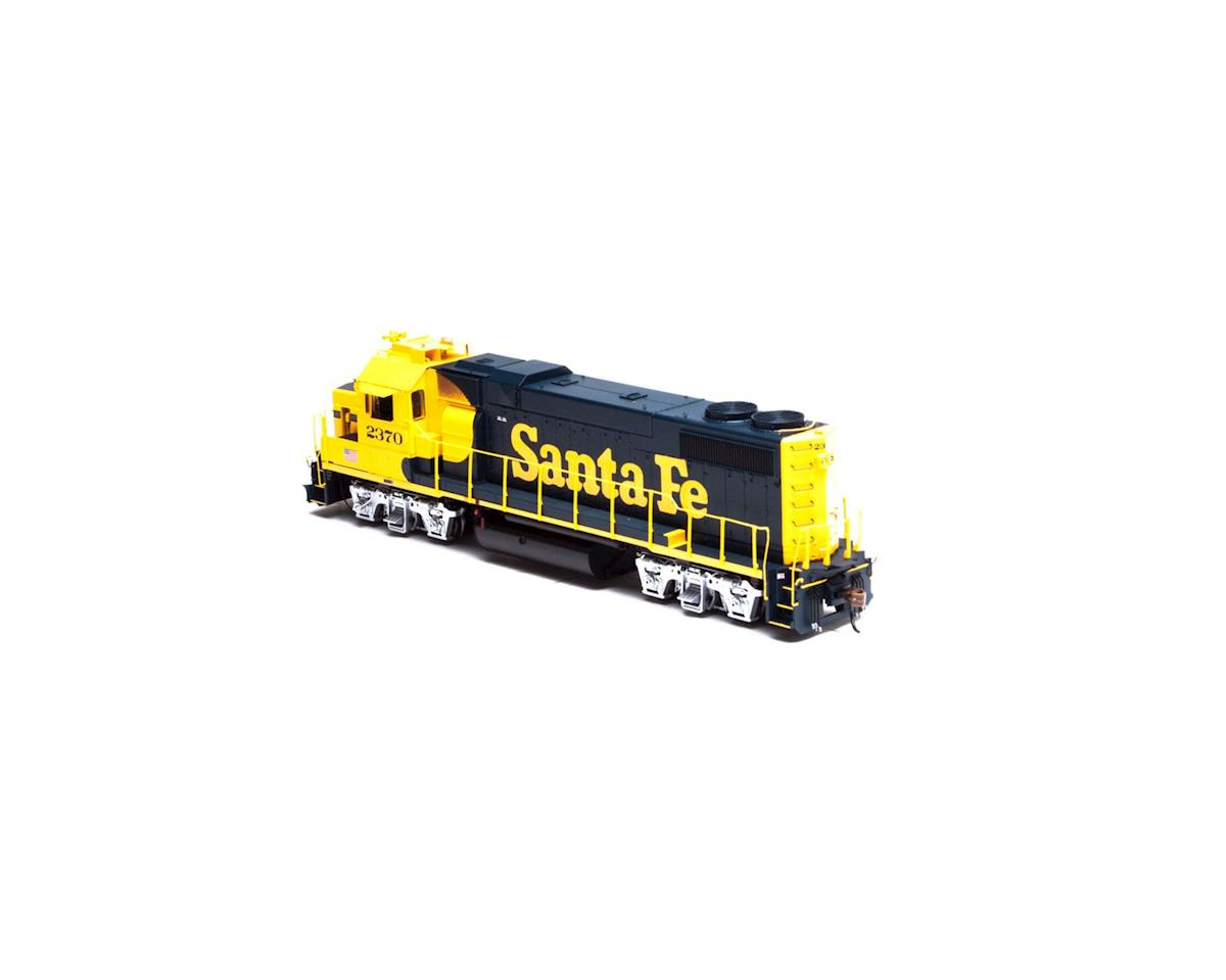 HO GP38-2 w/DCC & Sound, SF #2370 by Athearn