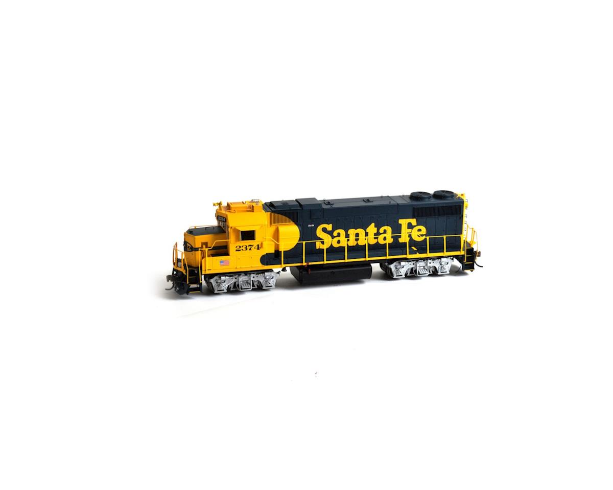 HO GP38-2 w/DCC & Sound, SF #2374