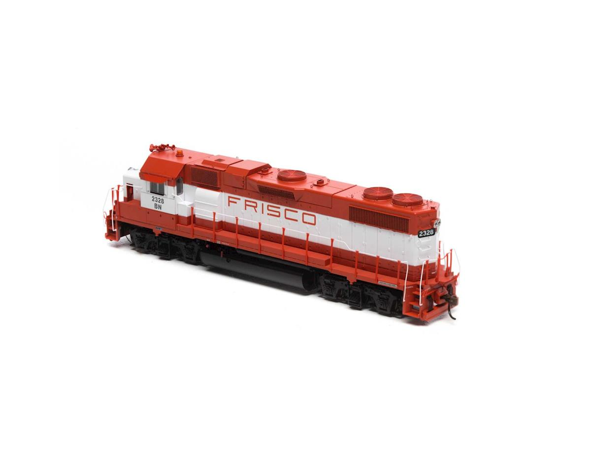 Athearn HO GP38-2 w/DCC & Sound, BN/Frisco Patch #2328