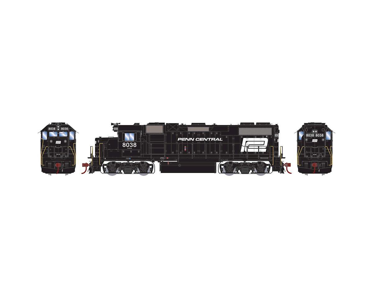 Athearn HO GP38-2 w/DCC & Sound, PC #8038