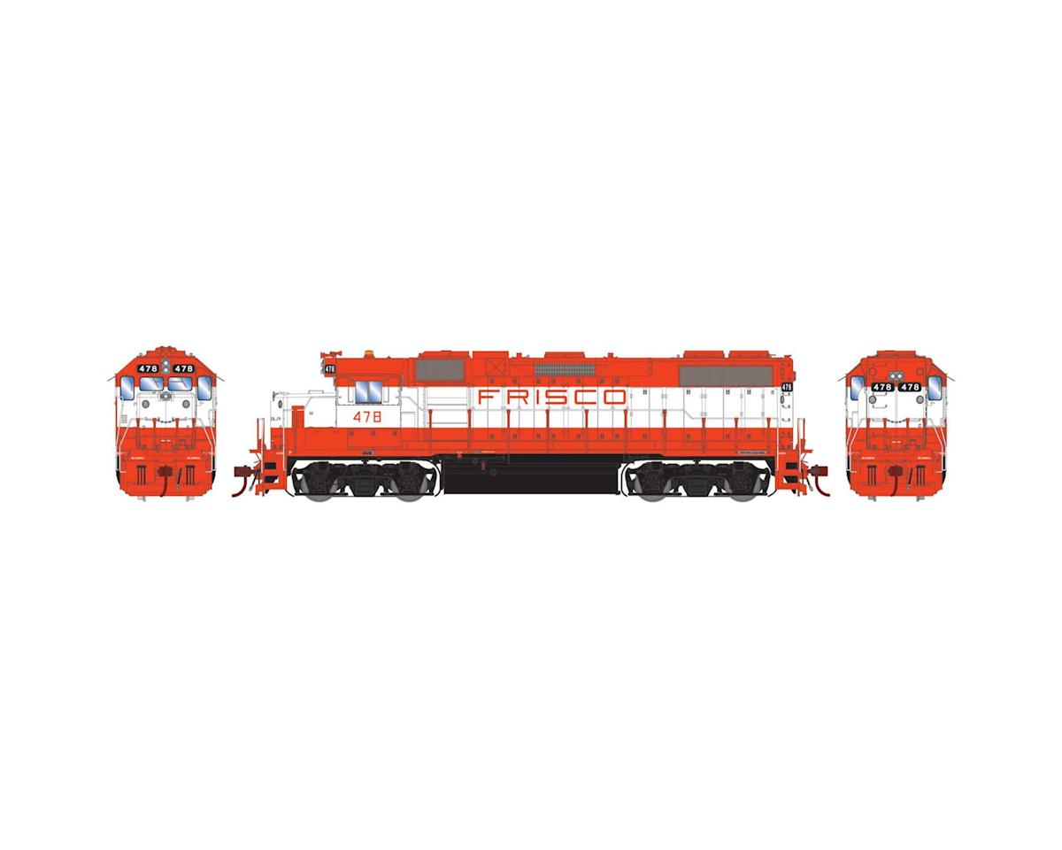 HO GP38-2 w/DCC & Sound, Frisco #478 by Athearn