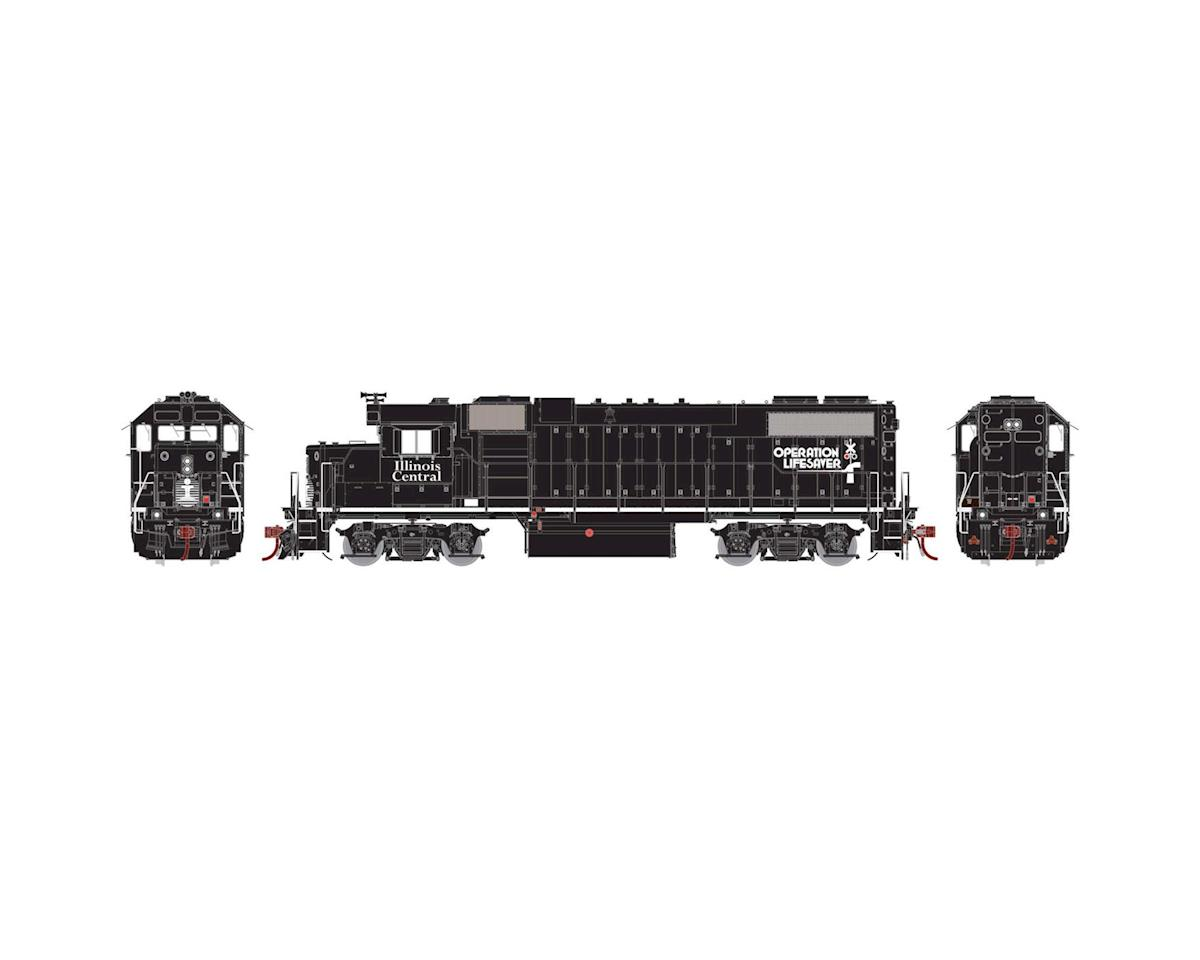 Athearn HO GP38-2 Phase I w/DCC & Sound, IC/Black/OL No #