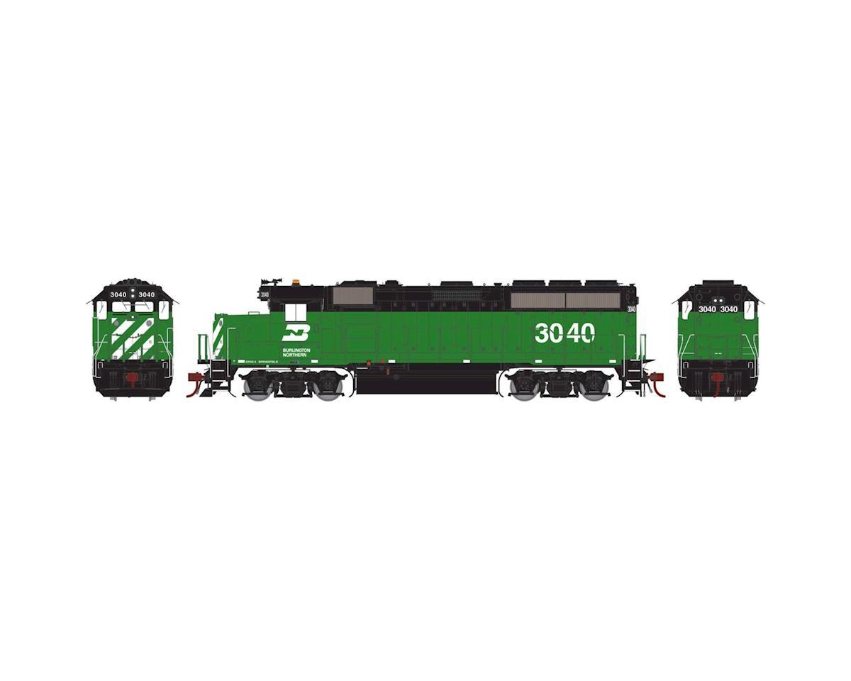 Athearn HO GP40-2 w/DCC & Sound, BN #3040