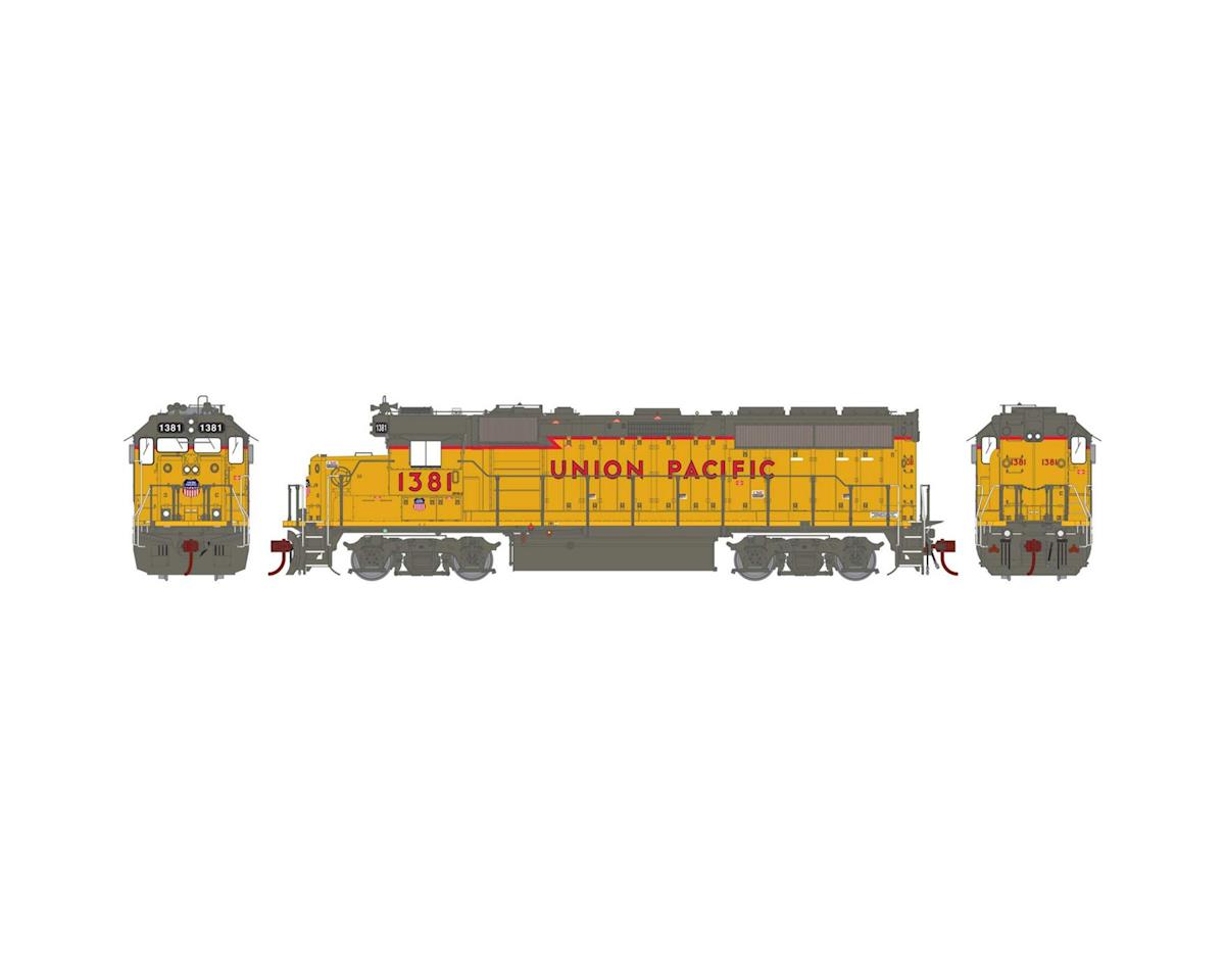 Athearn HO GP40-2 w/DCC & Sound, UP #1381