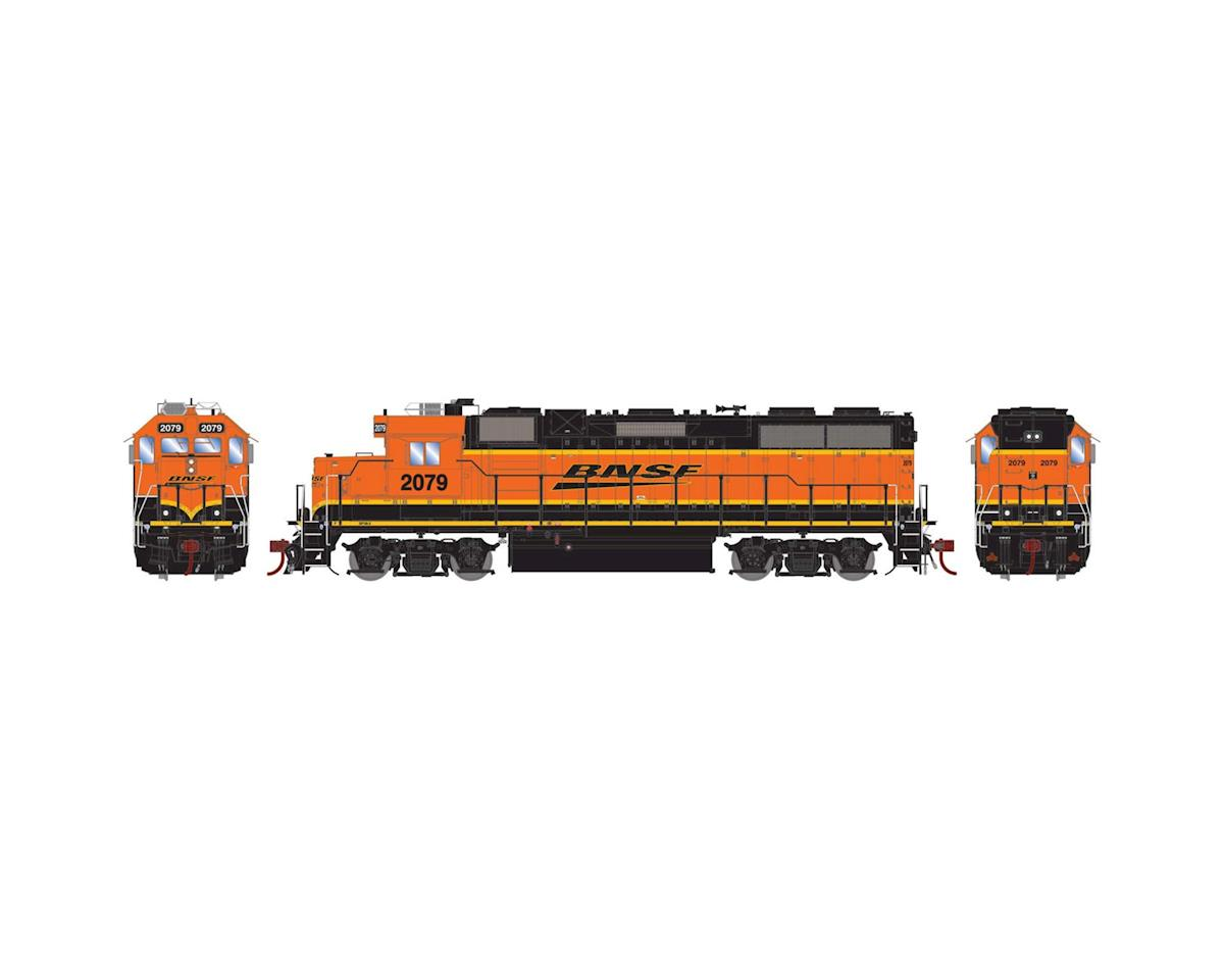 Athearn HO GP38-2 w/DCC & Sound, BNSF/Wedge #2079