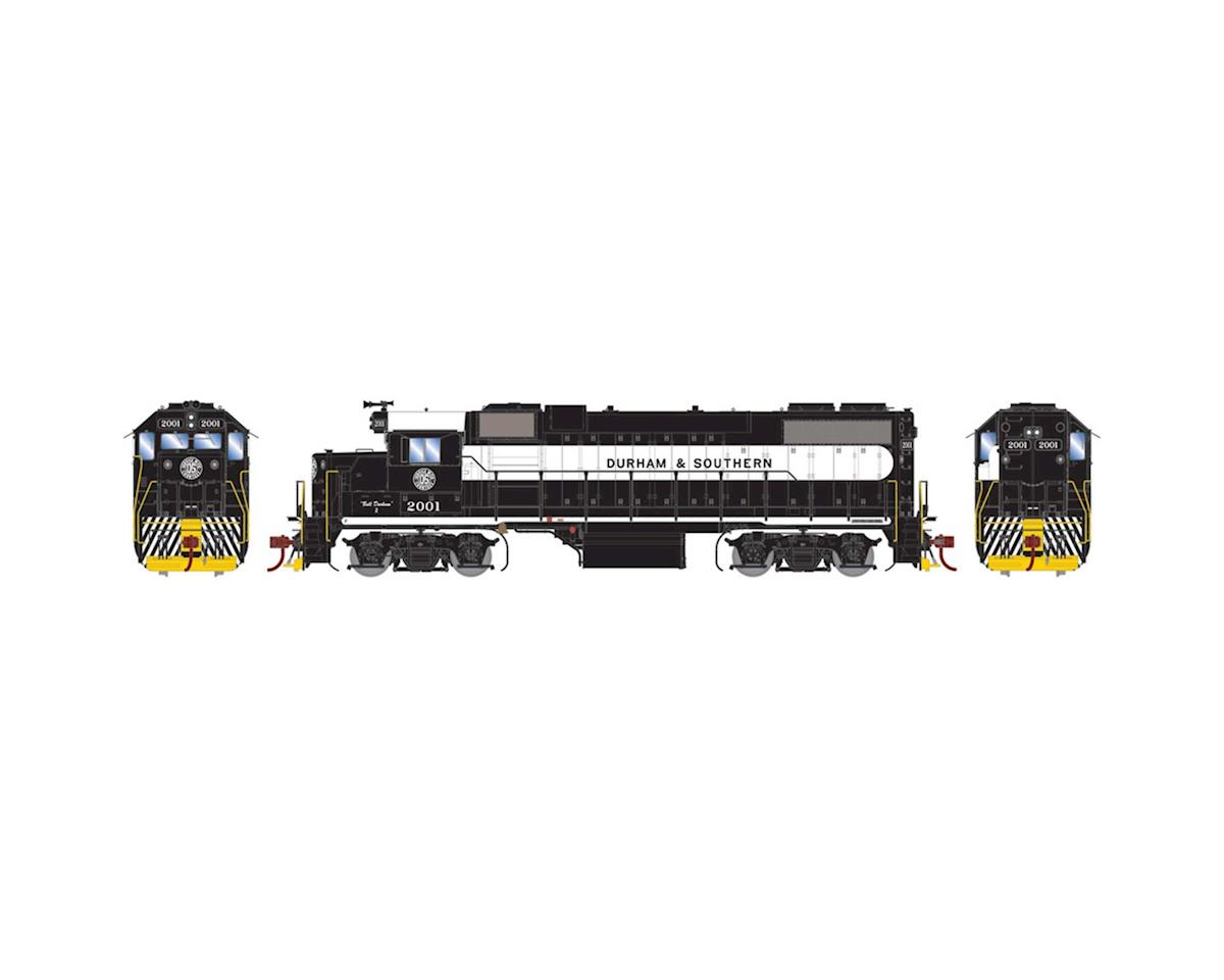 Athearn HO GP38-2 w/DCC & Sound, D&S/Black & White #2001