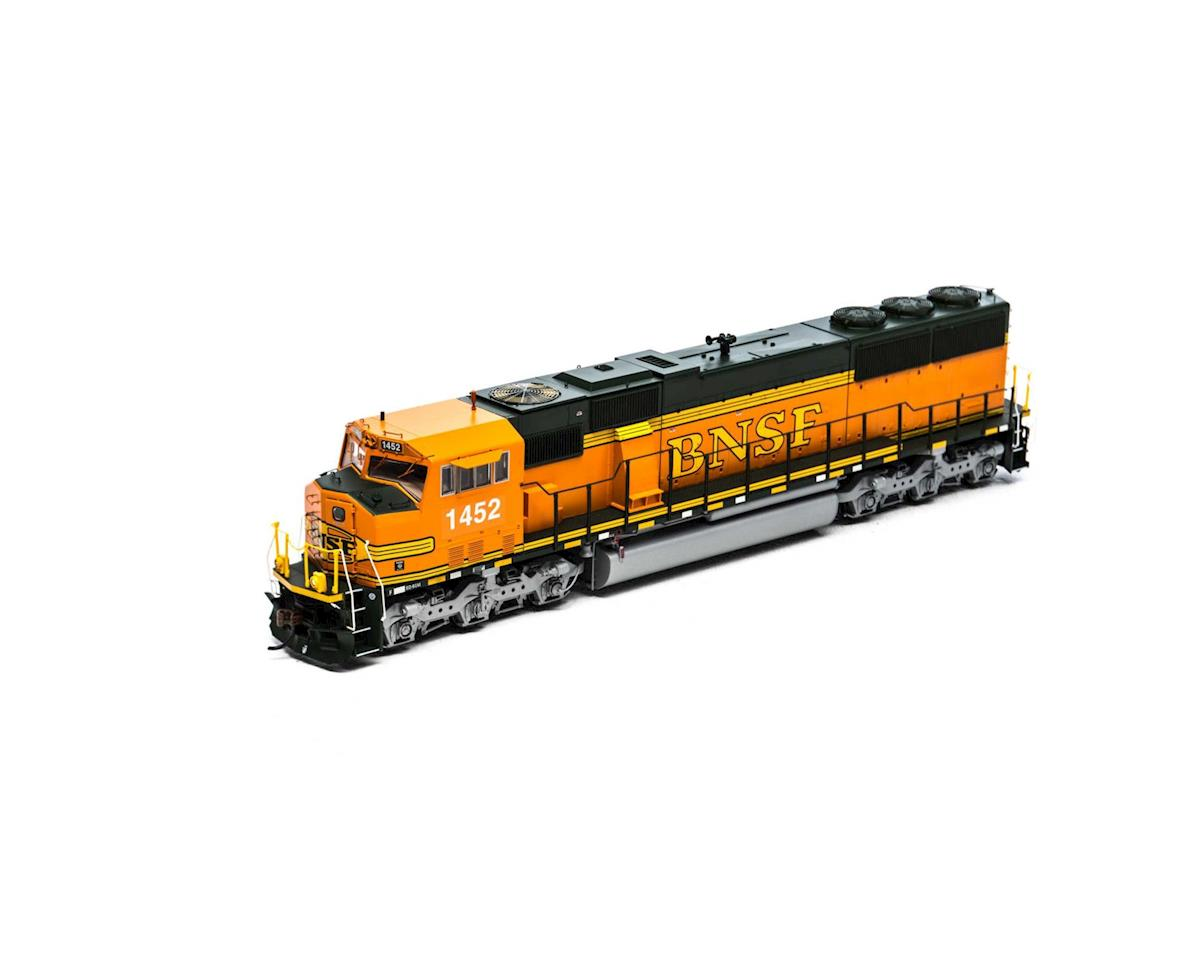 Athearn HO SD60M, BNSF #1452
