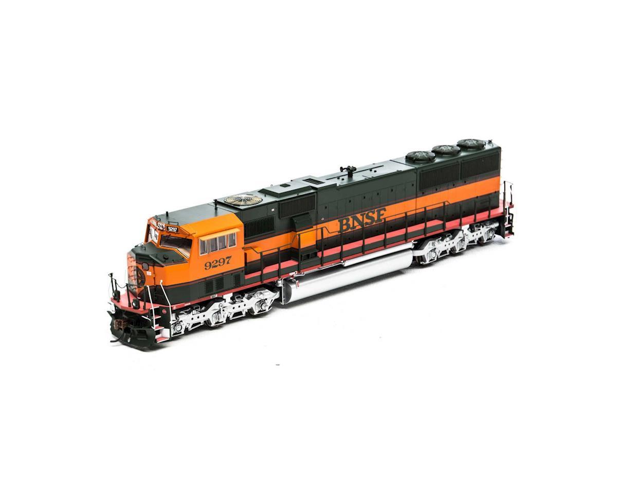 Athearn HO SD60M w/DCC & Sound, BNSF/Great Pumpkin #9297