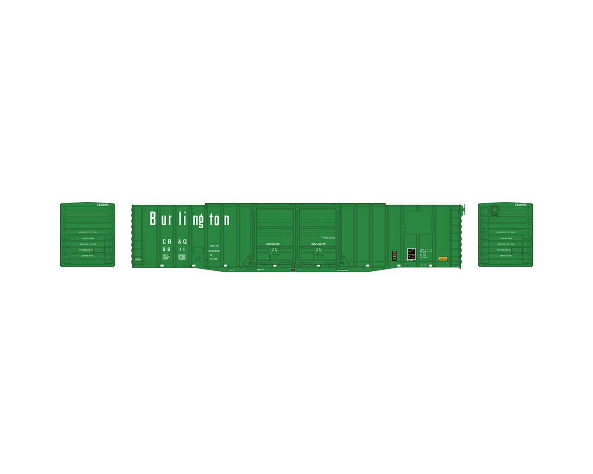 Athearn HO 60' PS Auto Box, CB&Q #9811