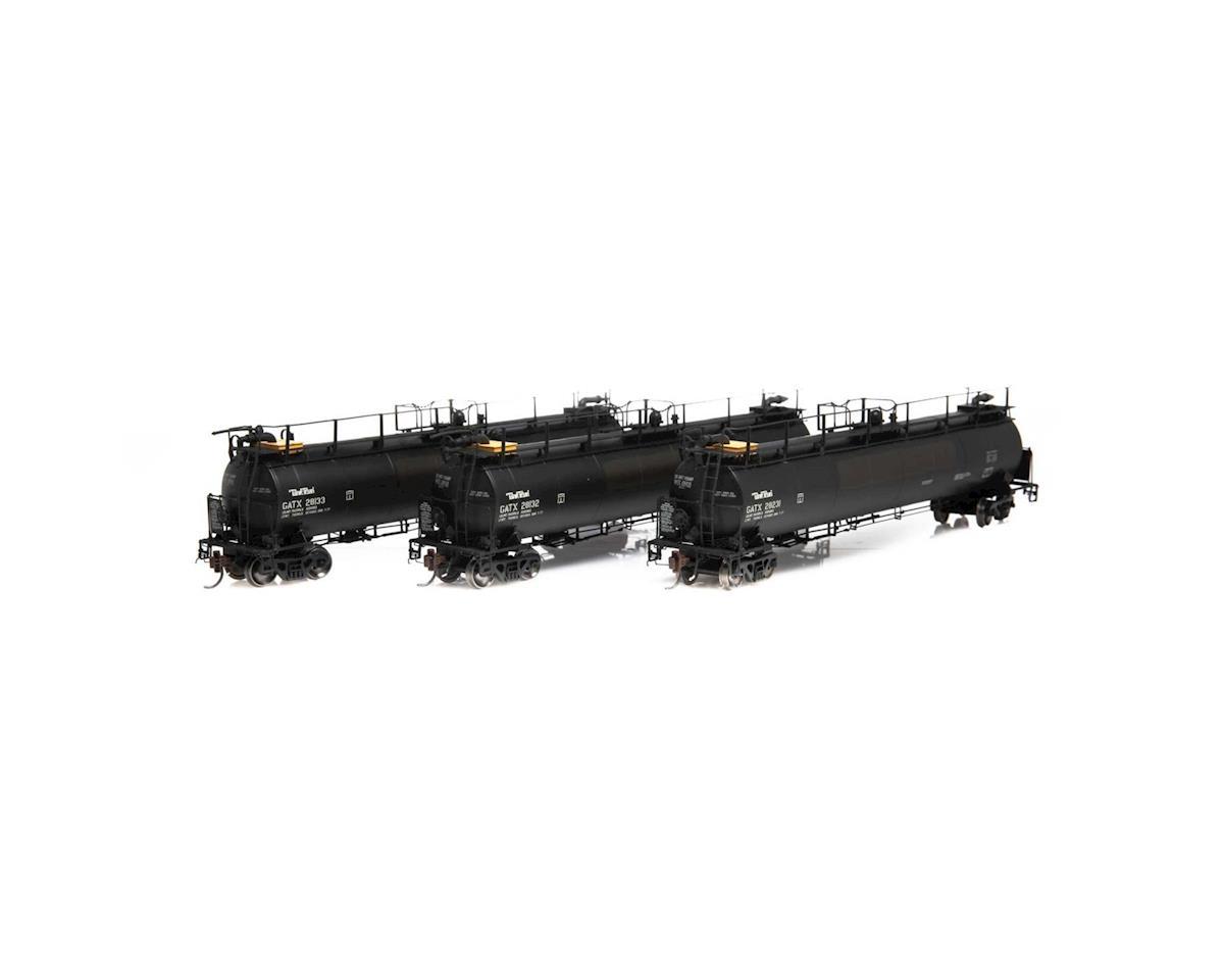 Athearn HO TankTrain A/B & Intermediate Car, GATX/P-TT-L