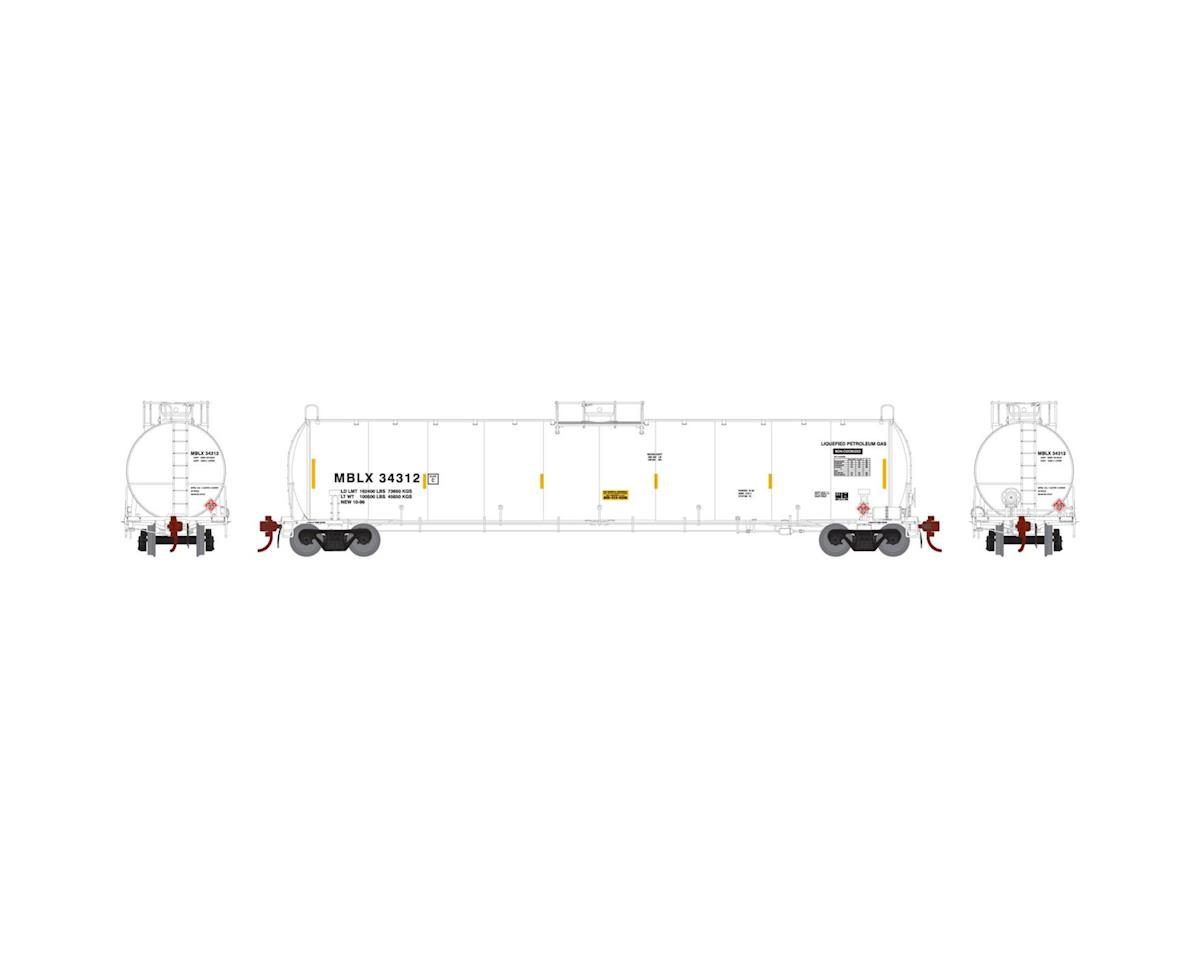 HO 33,900-Gallon LPG Tank/Early, MBLX #34312 by Athearn