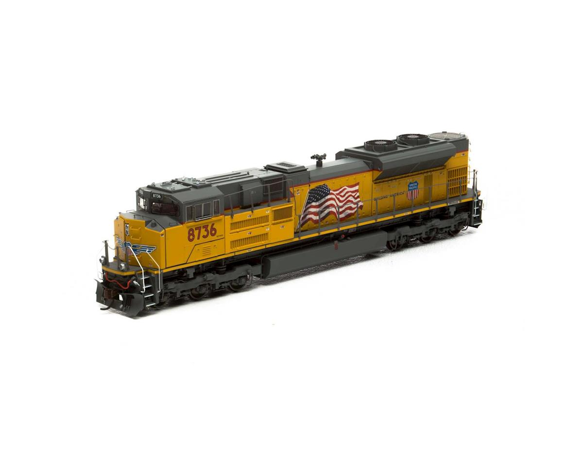 HO SD70ACe w/DCC & Sound, UP #8736 by Athearn