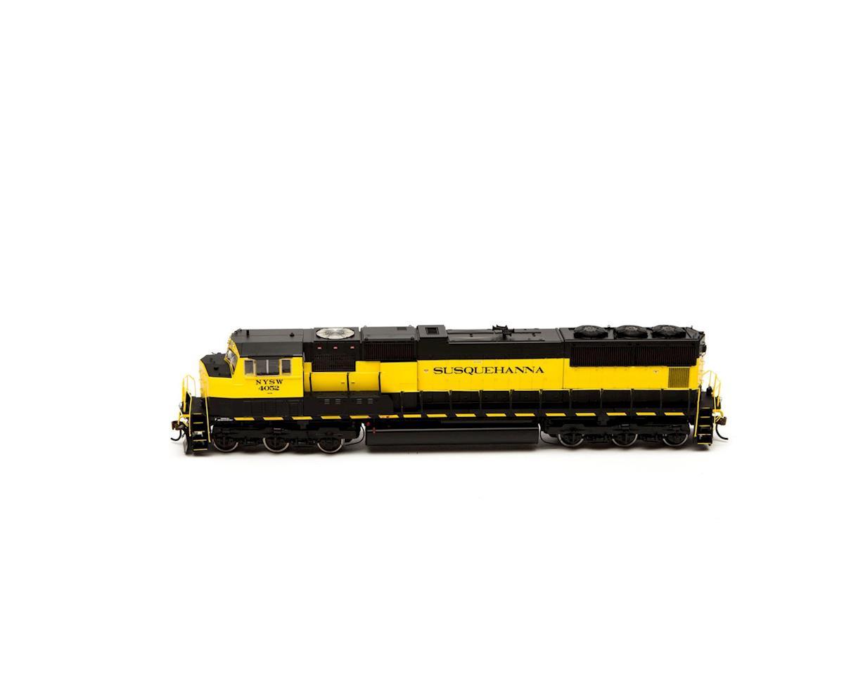 Athearn HO SD70M, NYS&W #4052