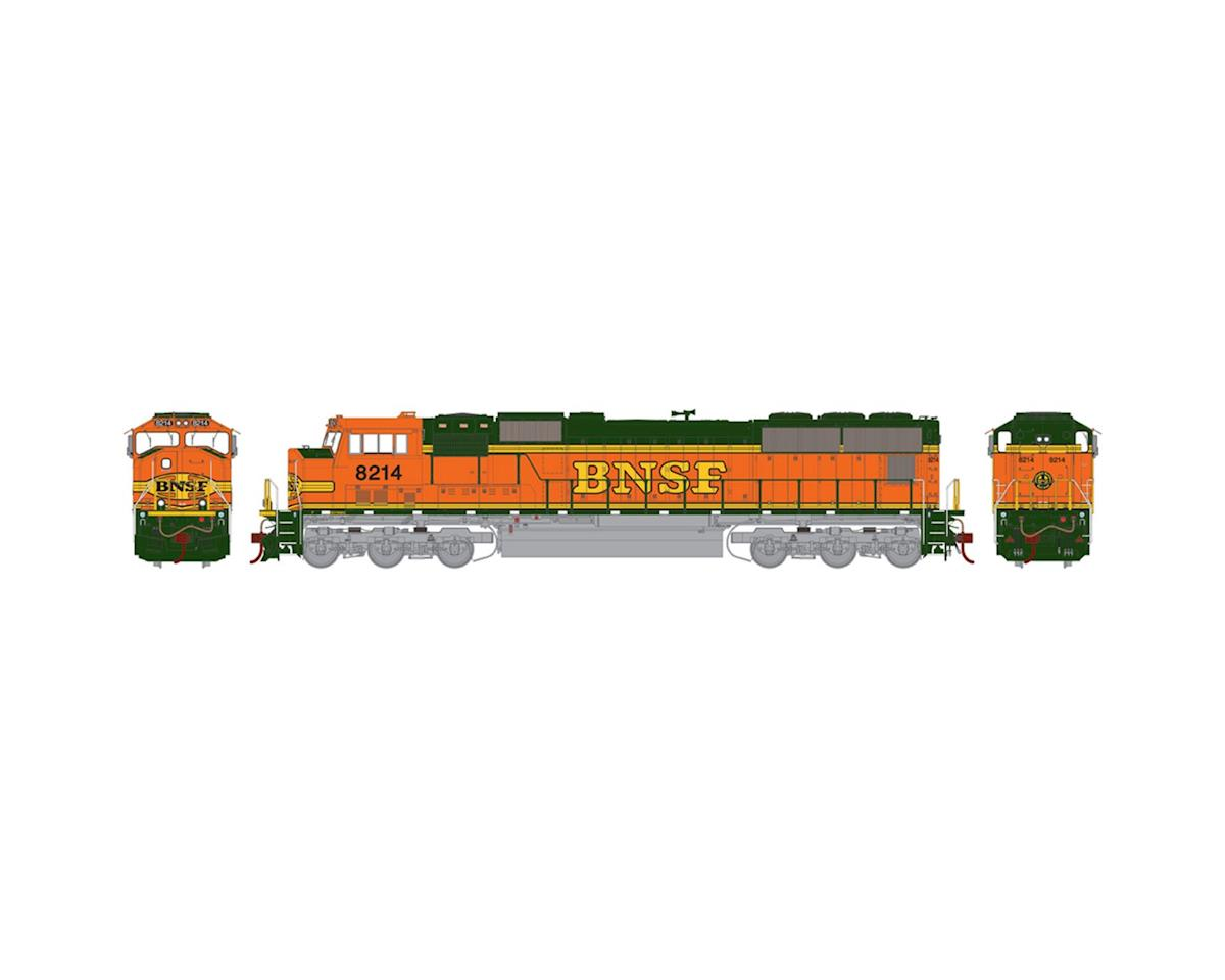 HO SD75M, BNSF #8214 by Athearn