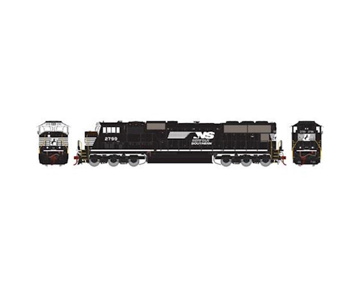 Athearn HO SD70M, NS/Ex-NYS&W #2799