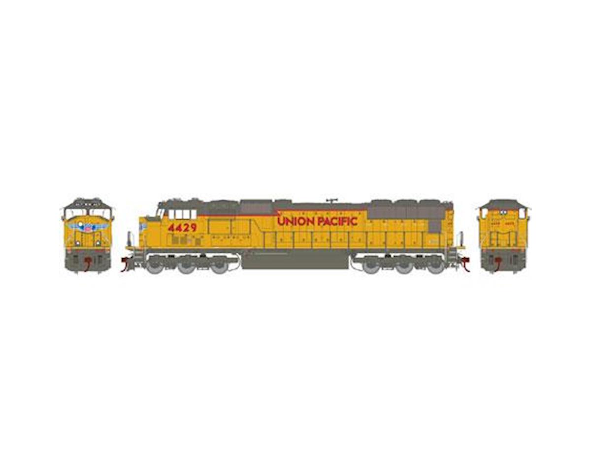 Athearn HO SD70M, UP/Yellow/Frame/Stripe w/PTC #4429