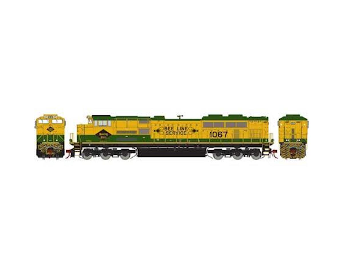 Athearn HO SD70ACe, NS/RDG Heritage #1067