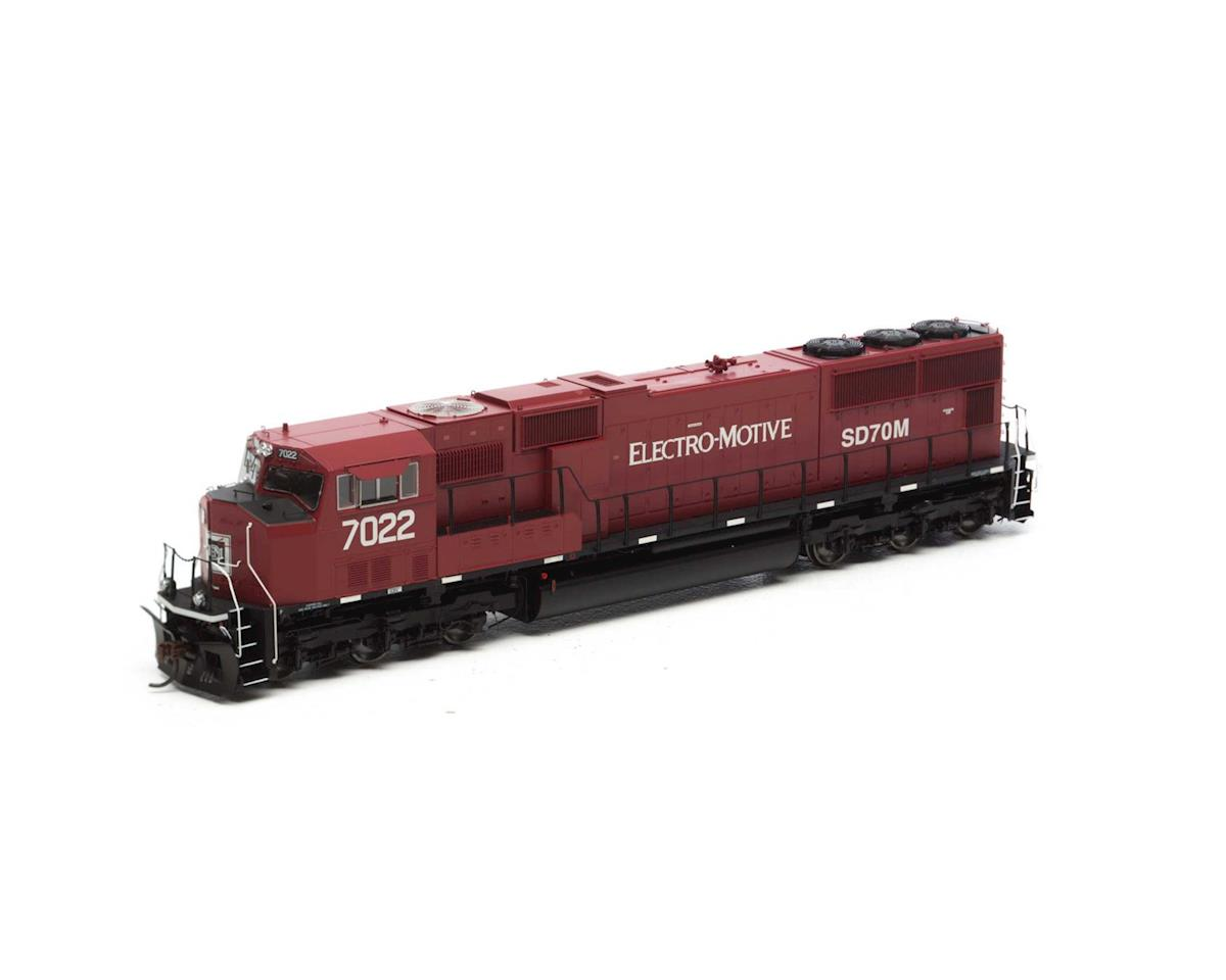 Athearn HO SD70M w/DCC & Sound, EMD Lease #7022