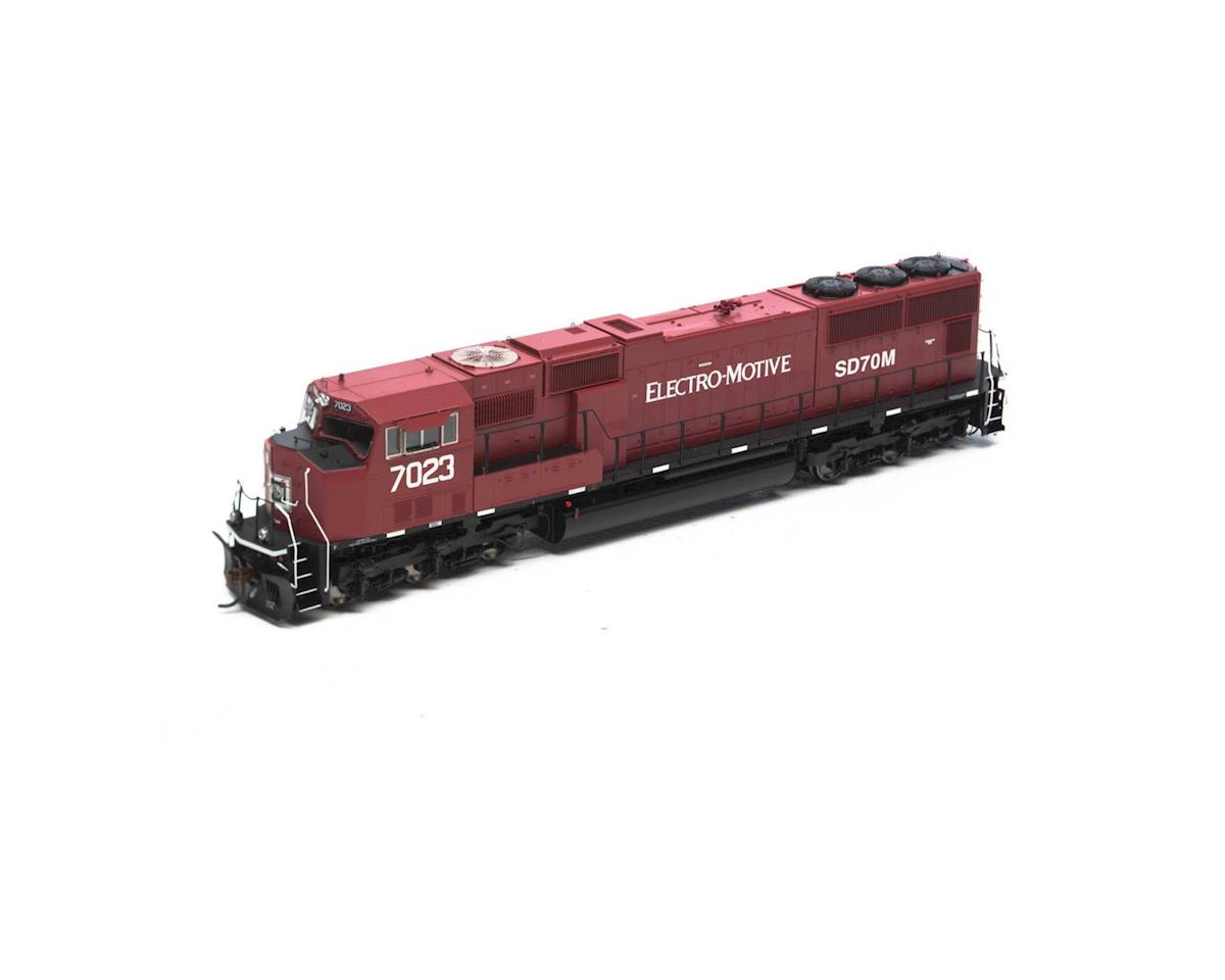 Athearn HO SD70M w/DCC & Sound, EMD Lease #7023