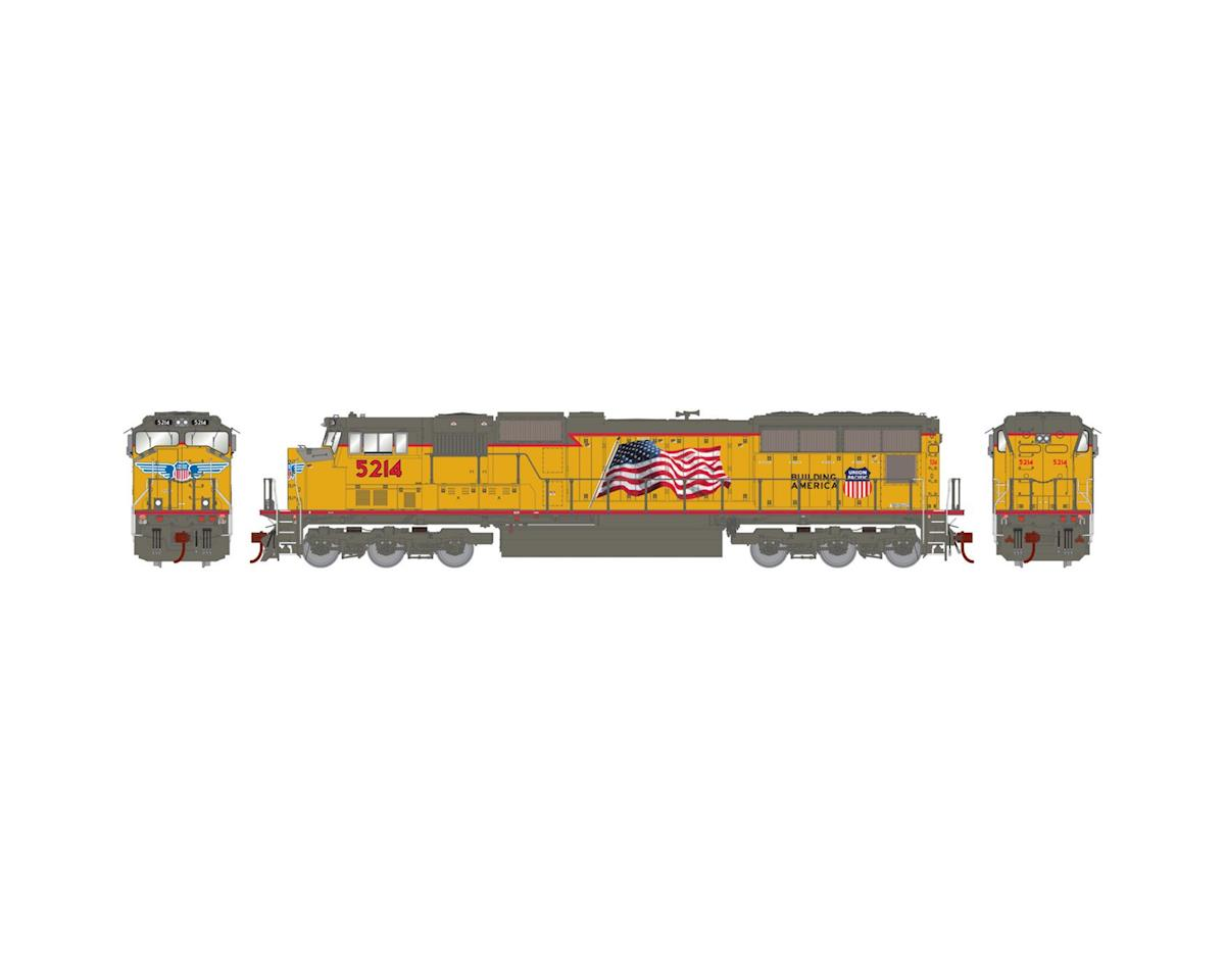HO SD70M w/DCC & Sound, UP/Flag #5214 by Athearn