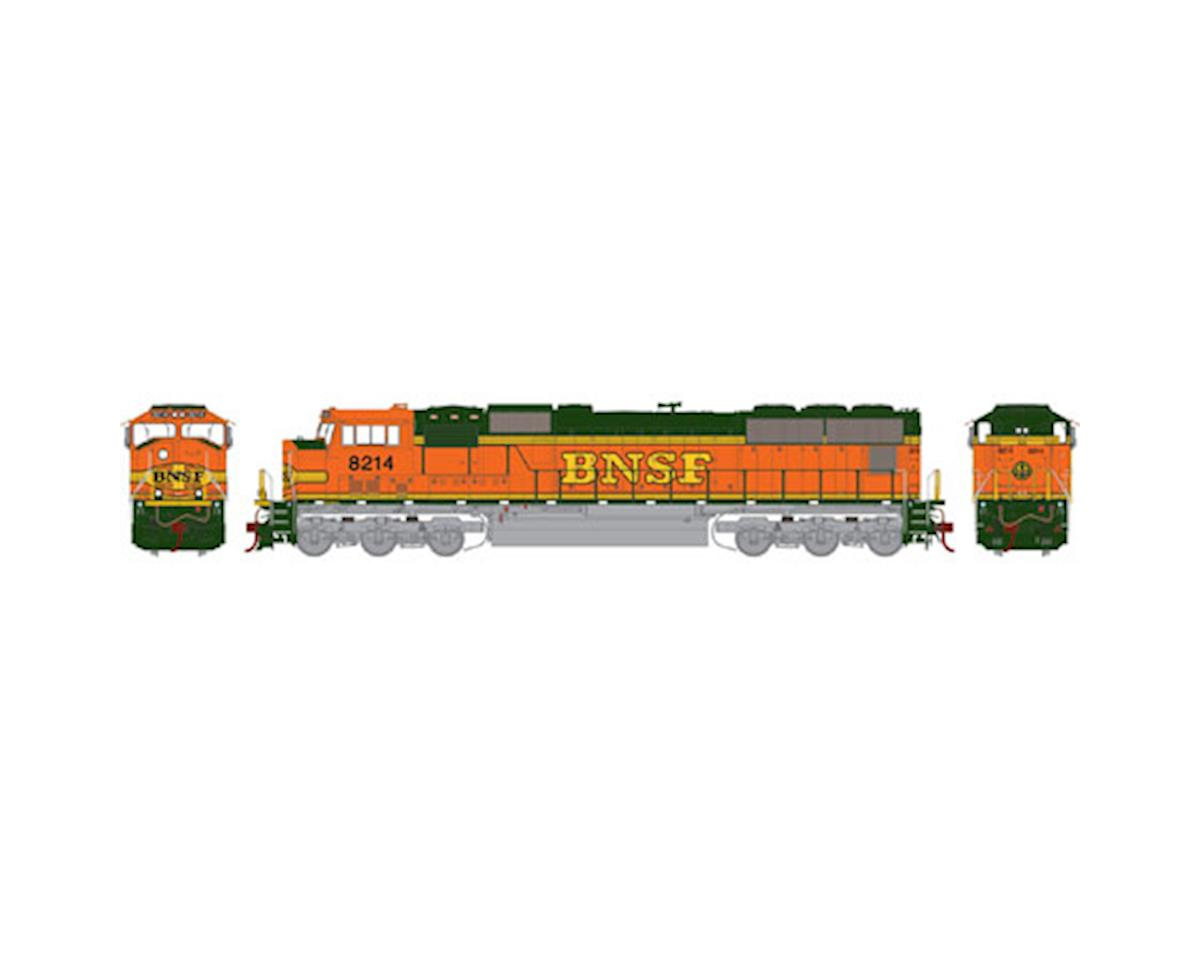 HO SD75M w/DCC & Sound, BNSF #8214 by Athearn