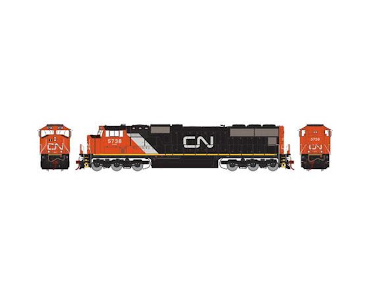 Athearn HO SD75I w/DCC & Sound, CN #5738