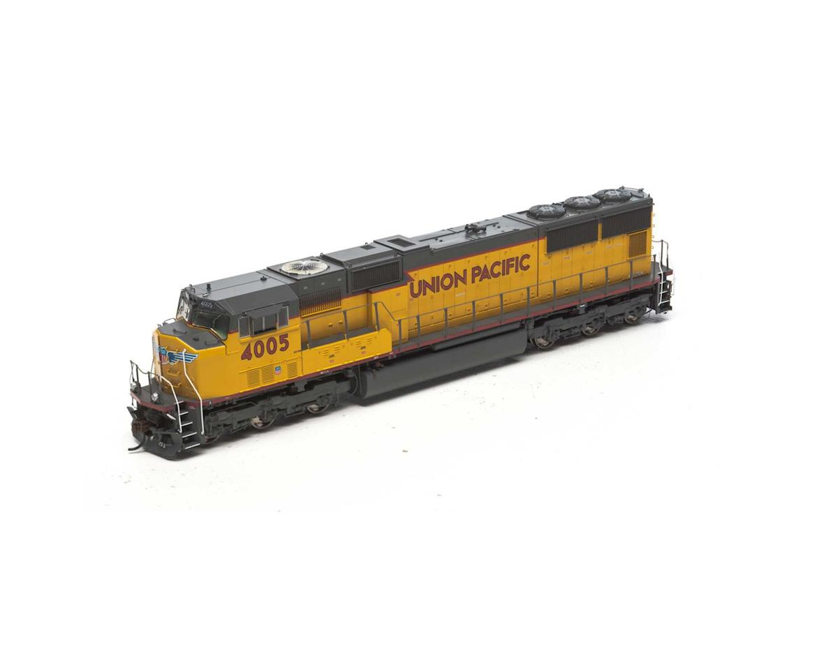 Athearn HO SD70M w/DCC & Sound, UP/Red/Frame/Stripe #4005