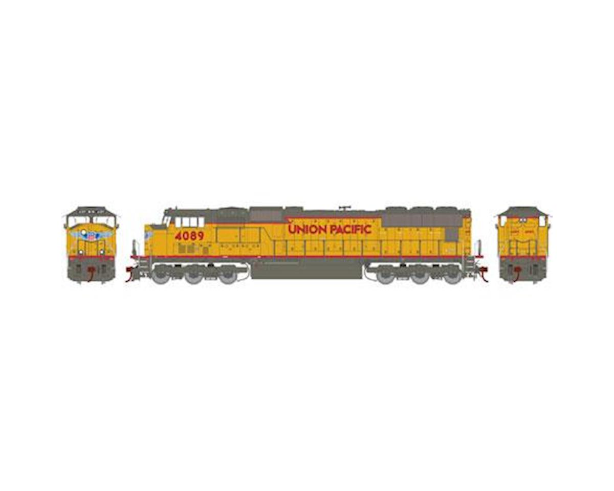 Athearn HO SD70M w/DCC & Sound, UP/Red/Frame/Stripe #4089
