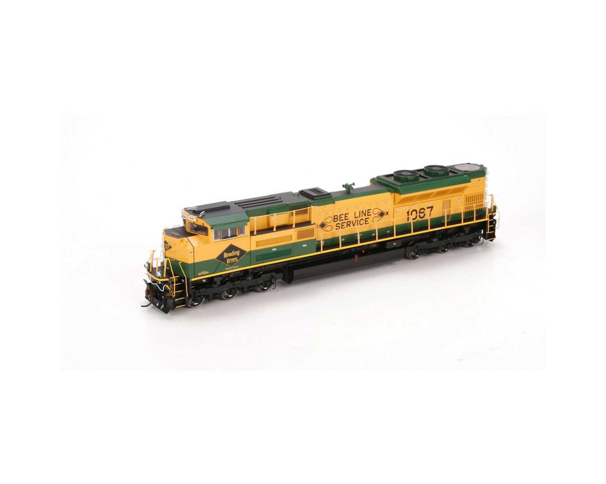 Athearn HO SD70ACe w/DCC & Sound, NS/RDG Heritage #1067