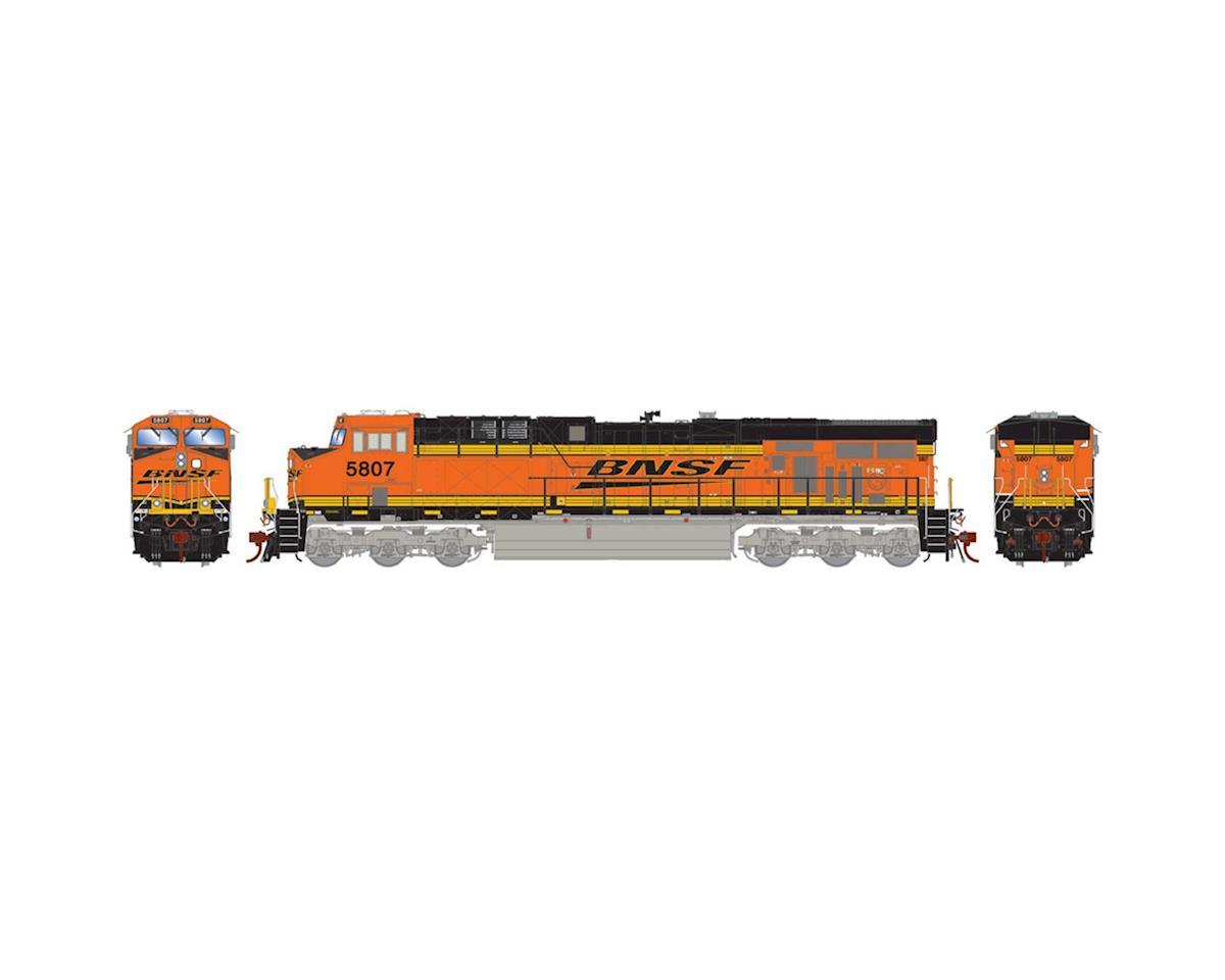 Athearn HO ES44AC w/DCC & Sound, BNSF Railway #5807