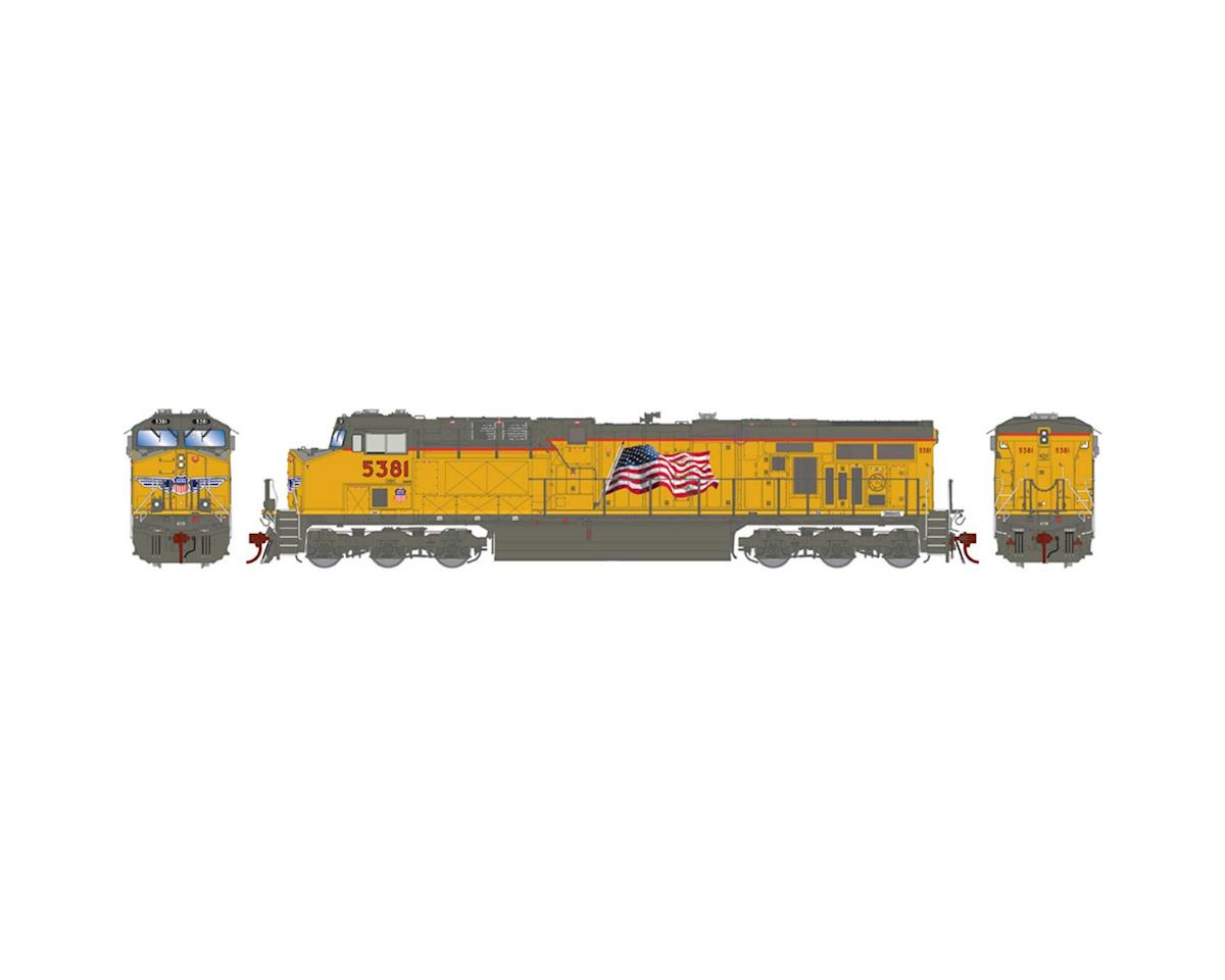 Athearn HO ES44AC w/DCC & Sound, UP/ w/PTC #5381