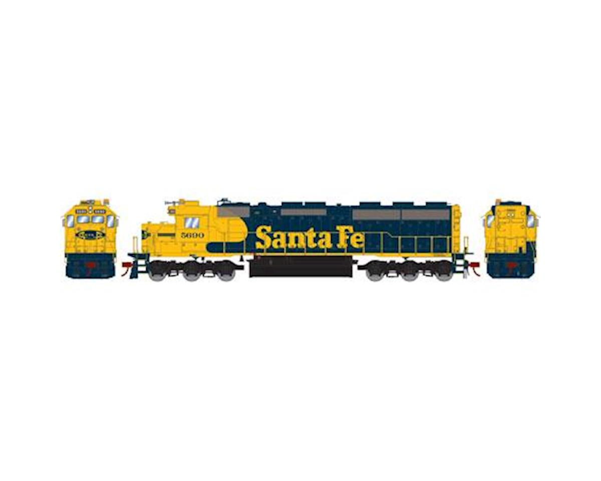 Athearn HO SD45-2 w/DCC & Sound, SF #5690