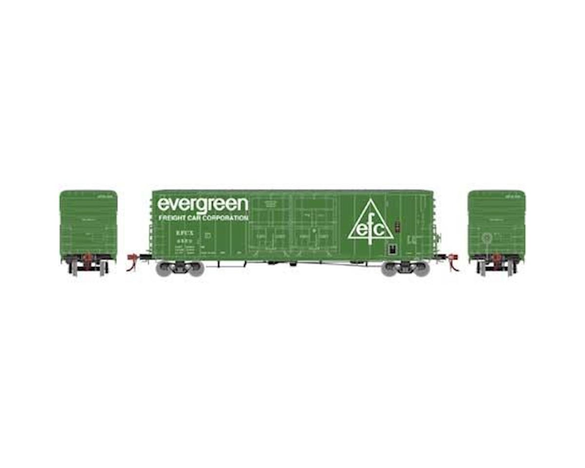 Athearn HO 50' PC&F Box/8' & 8' YSD Plug, Evergreen #3550