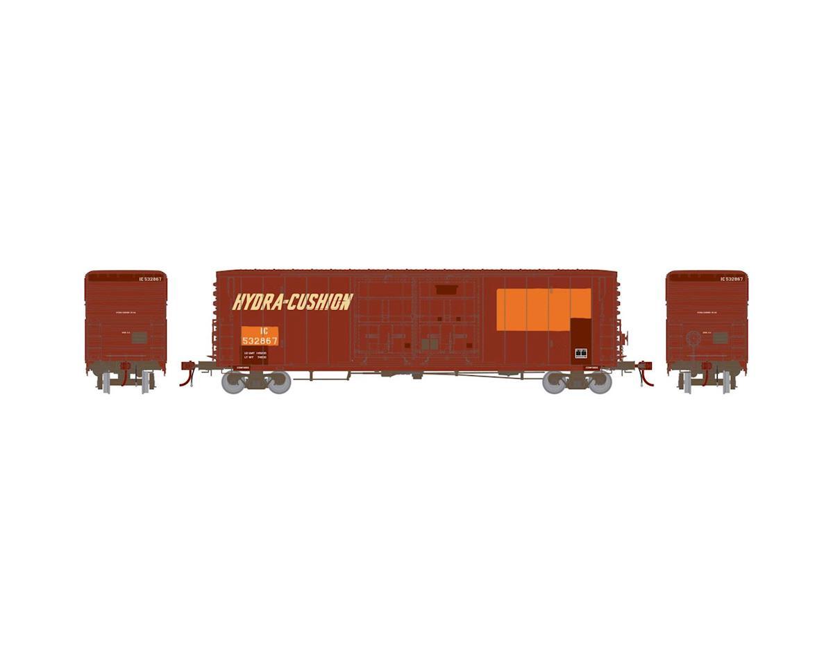 Athearn HO 50' PC&F Box/8' & 8' YSD Plug, Ex-SP/IC #532867