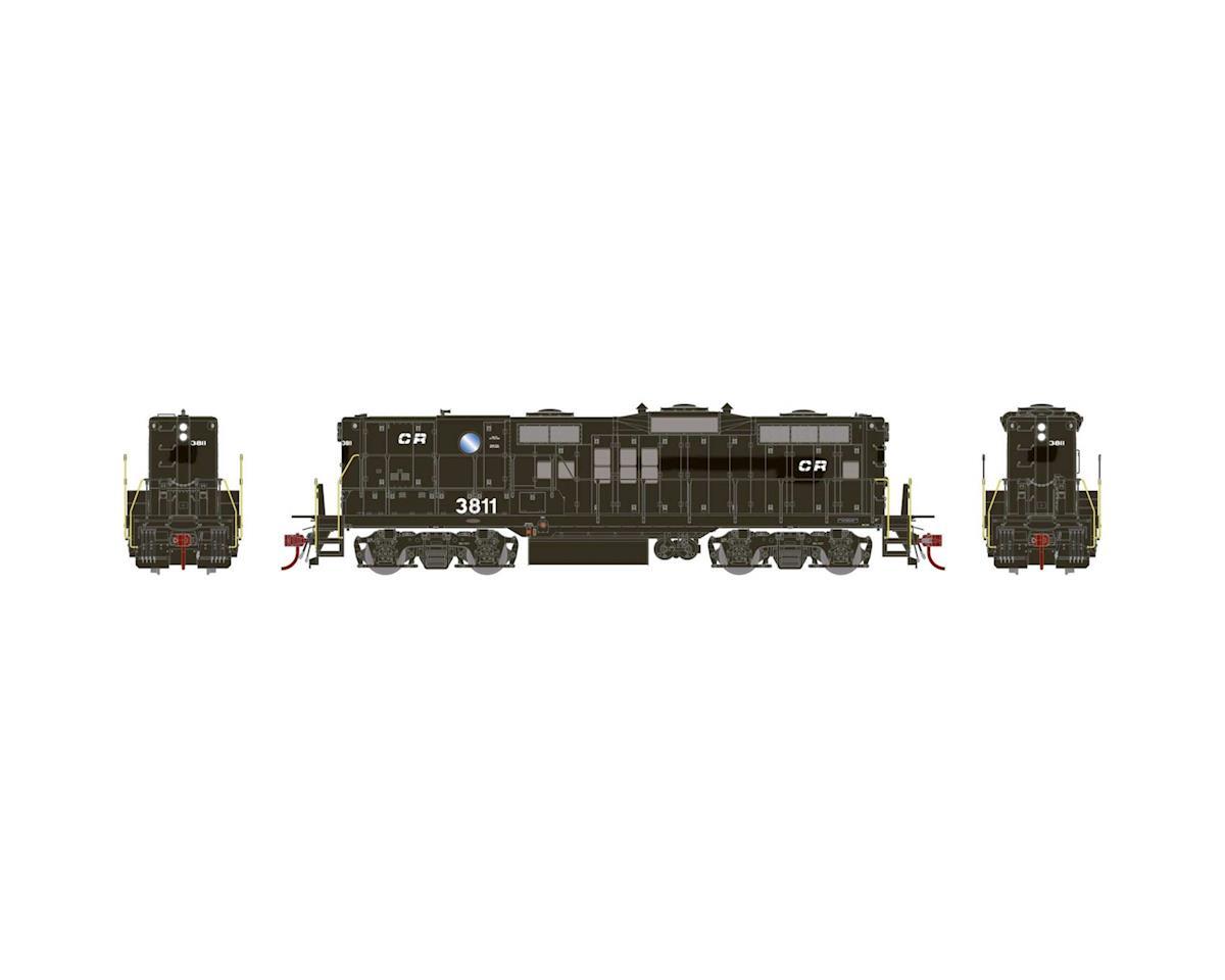 Athearn HO GP9B w/DCC & Sound, CR #3811