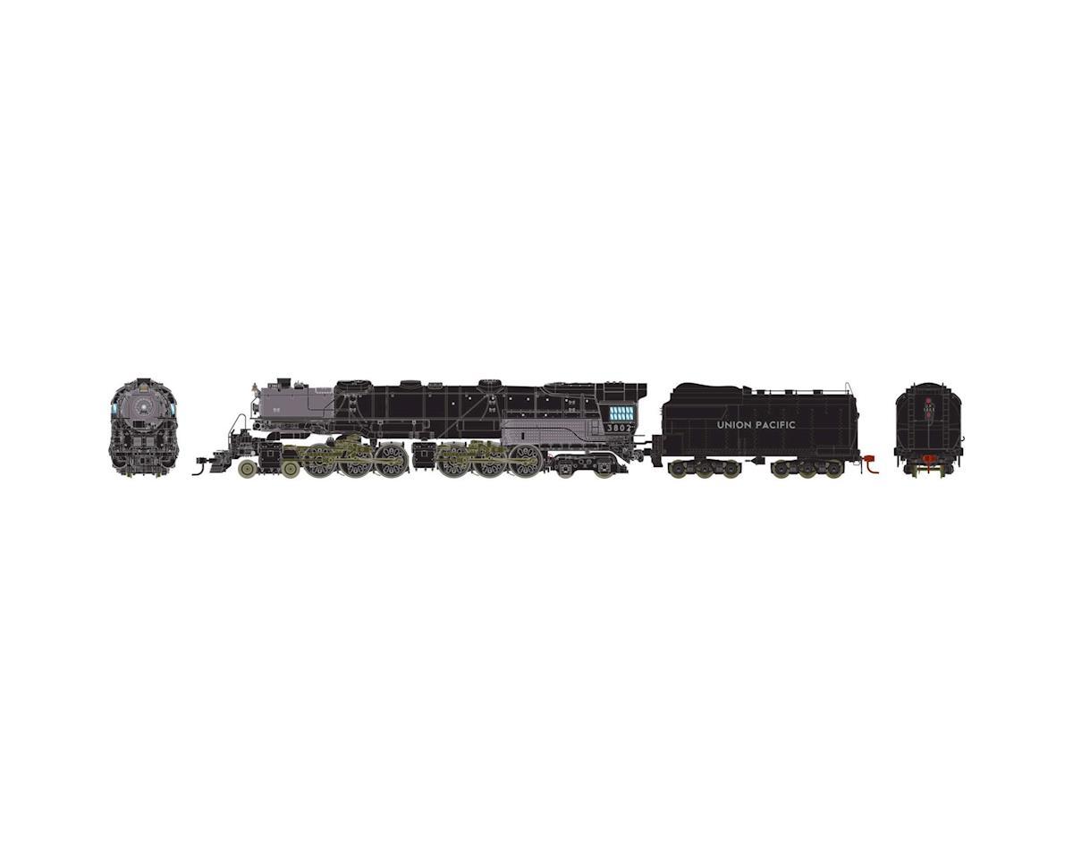 Athearn HO 4-6-6-4 w/DCC &SND Coal/Rck,UP CSA-1 Class#3802