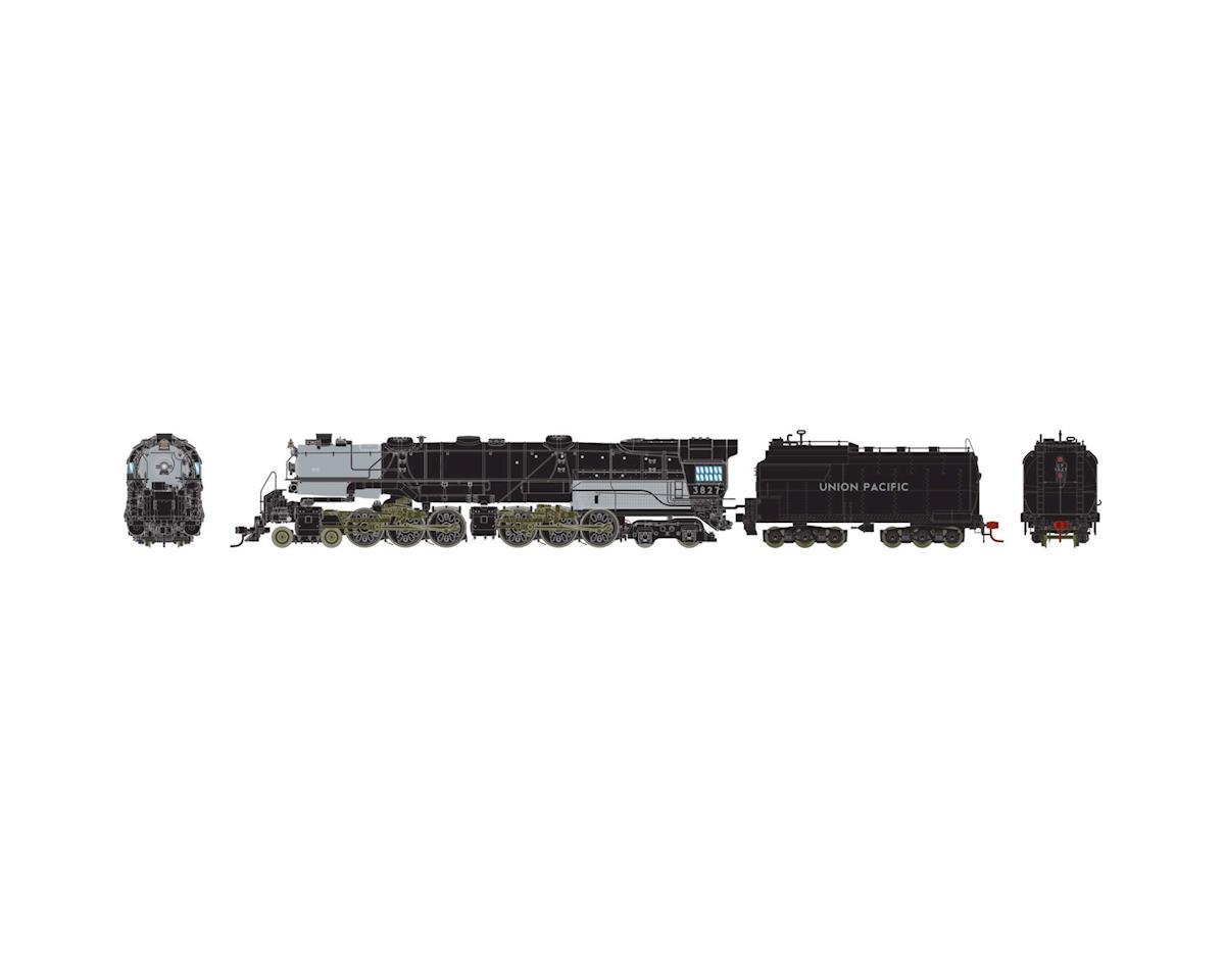 Athearn HO 4-6-6-4 w/DCC & SND Oil, UP CSA-2 Class #3827