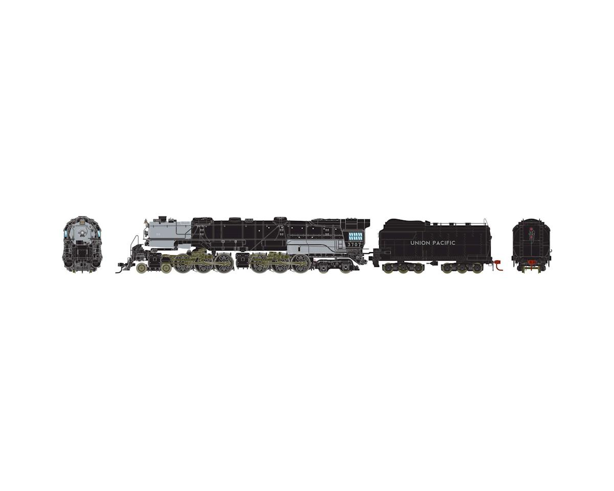 HO 4-6-6-4 w/DCC &SND Coal/Rck,UP CSA-1 Class#3707 by Athearn