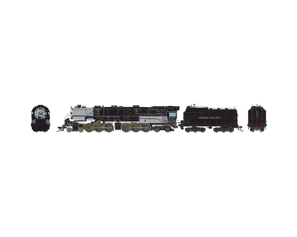 Athearn HO 4-6-6-4 w/DCC & SND Oil, UP CSA-2 Class #3937