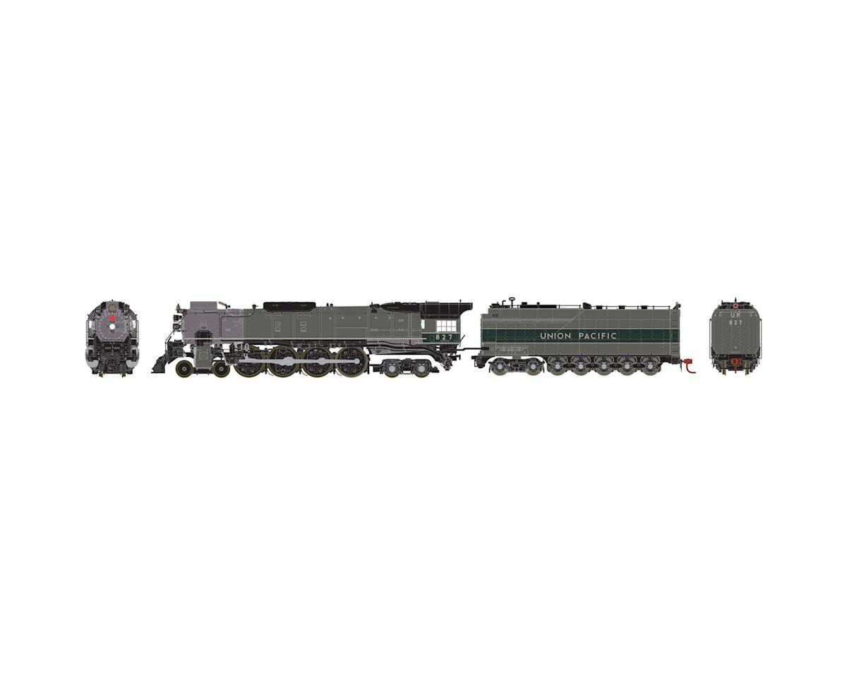 Athearn HO FEF-2 4-8-4 w/DCC & Sound, UP #827