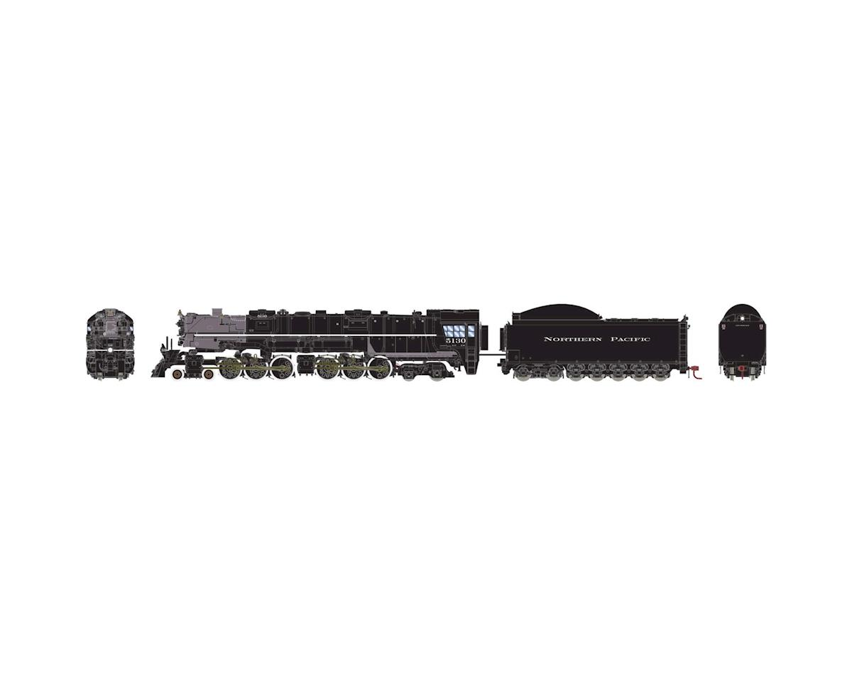 Athearn HO 4-6-6-4 w/DCC & Sound Coal Tender, NP #5130