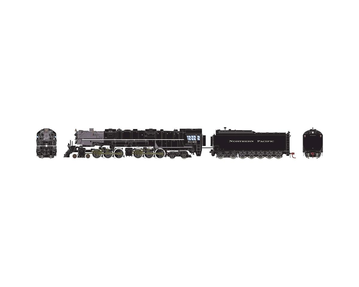 Athearn HO 4-6-6-4 w/DCC & Sound Oil Tender, NP #5140