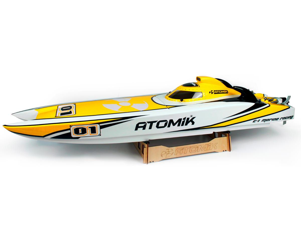 Atomik RC ARC 58 RTR Brushless Catamaran Boat w/VR3S 2.4GHz Radio, 180A ESC & 1100kV Motor