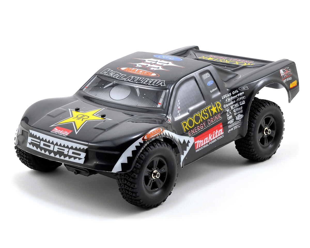 "Atomik RC ""Brian Deegan Metal Mulisha"" 1/18th Scale RTR Short Course Truck w/2.4GHz Radio"