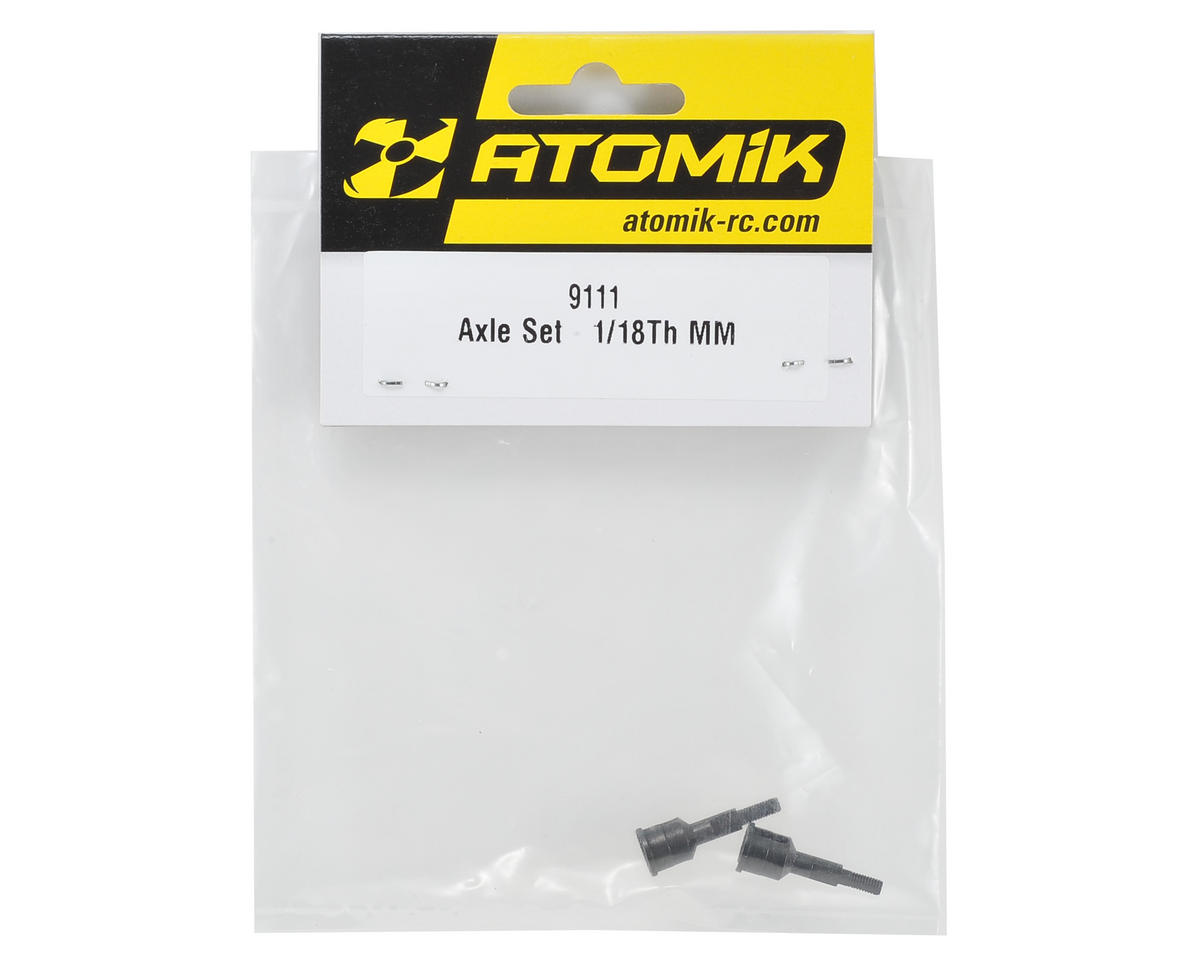 Atomik RC Wheel Axle Set (2)