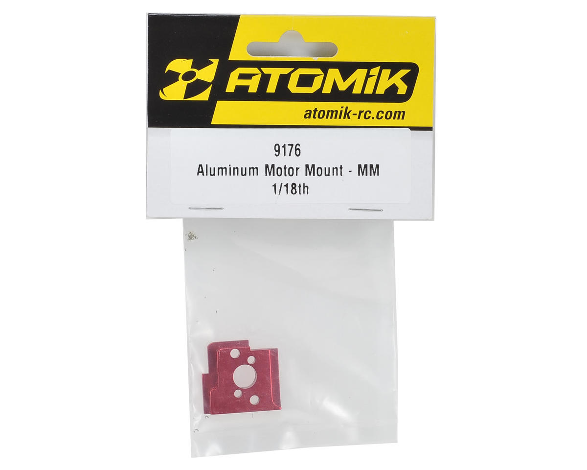 Atomik RC Aluminum Motor Mount (Red)